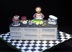 Wow! Something for cake fans!