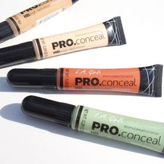 Saturday Pick* Can't beat it for the price and Q.U.A.L.I.T.Y ! I would definitely recommend trying these LA Girl color corrector out.   >> Use code schoolbell10 for 10% off >> http://www.pick6deals.com/la-girl-conceal.html