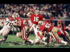 0fee5e19b9a The Montana - San Francisco quarterback Joe Montana leads his team down the  field in the closing minutes against the Cincinnati Bengals in Super Bowl  XXIII.