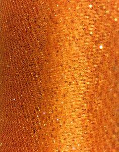 "Glitter Tulle in ""Orange"" $2.95/yd 58"" wide #tulle #glittertulle #apparel #textilediscountOrange.JPG"