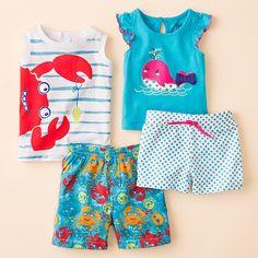 #kids #nautical #beachwear  Apparel styled by Adrian Perry