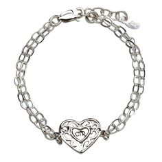 Beautiful sterling silver CTR Heart Bracelet featuring beautiful CTR HeartCharm in filigree design! This is adjustable in length 6 -. Heart Bracelet, Bracelets, Baptism Gifts, Filigree Design, Book Gifts, Diy Fashion, Special Gifts, Sterling Silver, Lds