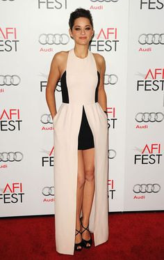 Marion Cotillard is super cute in this Dior gown.