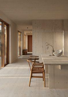 Interior Design Minimalist, Interior Design Living Room, Interior Decorating, Kitchen Design Minimalist, Interior Home Decoration, Modern Minimalist, Minimalist Dining Room, Minimalistic Kitchen, New Interior Design