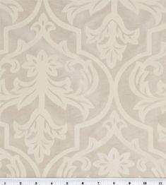 Home Decor Fabrics-Platinum Collection Lorant Ivory