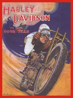Bikes And Boards Goodyear Vintage Posters Bike Vintage