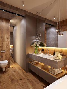 Badezimmer dachgeschoss 47 Tiny House Bathroom Remodel Ideas That Your Home Needs Toile Bedding Arti Bathroom Design Luxury, Modern Bathroom Decor, Modern Bathroom Design, Home Interior Design, Bathroom Designs, Modern Luxury Bathroom, Minimalist Bathroom, Tiny House Bathroom, Dream Bathrooms