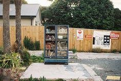 book fridge. By coffeestainsandcigarettes, via Flickr