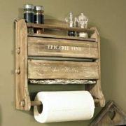 Foil/Cling film/Kitchen Roll Dispenser Holder