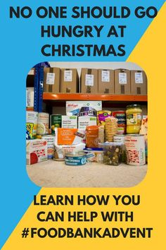 make a Reverse Advent Calendar to help your local food bank #xmas #givingback