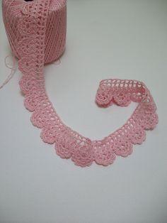 Handmade handCrocheted cotton thread linen by MyDreamCrochets, $22.00