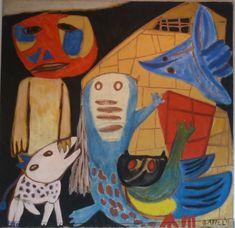 karel appel | Amstelveen: Cobra Museum, Karel Appel II | Baruman's Blog
