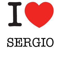 I Heart Sergio #love #heart