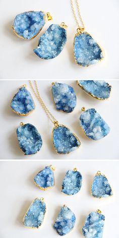 All shades of blue von Ksenia Topol auf Etsy