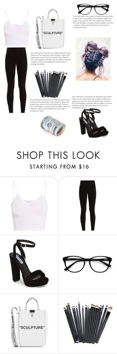 """my style n°3"" by authentic-fashion ❤ liked on Polyvore featuring BasicGrey, Balenciaga, Steve Madden, EyeBuyDirect.com and Off-White"