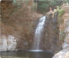 Cliff Jumping In Costa Rica.