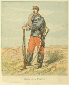 French; 9th Chasseurs a Cheval, Chasseur 1870