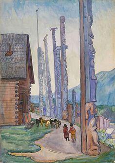 Gitwangar 1912, Emily Carr
