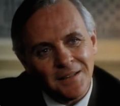 Anthony Hopkins in Shadowlands Goodbye Christopher Robin, Master And Commander, Sir Anthony Hopkins, You Are The Greatest, Gone Girl, Hannibal Lecter, Les Miserables, Most Favorite, Acting