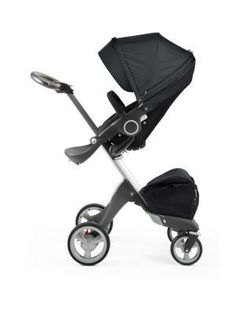 uppababy vista: an all-in-one stroller that can swap out bassinet ... - Designer Kinderwagen Longboard Quinny