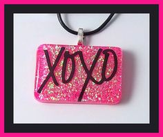 XOXO Hugs & Kisses Valentines Day Charmer Childrens by PBJewels, $5.00