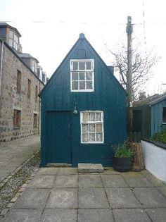 cottage  Footdee Aberdeen Scotland