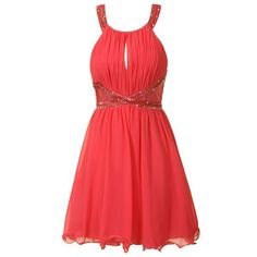 Coral Prom Dresses Cheap Under 100, Petite Prom Dresses For Short Girls, Knee Length Prom Dresses