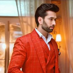 Indian Celebrities, Bollywood Celebrities, Nakul Mehta, Dil Bole Oberoi, Surbhi Chandna, Mr Perfect, Tv Actors, Mens Fashion Suits, Bollywood Stars