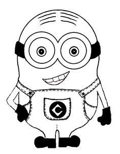 7 Pics Of Girl Minion Coloring Pages