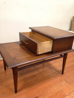 Vintage Mid Century Modern Lane Step End Table in Bedford-Stuyvesant, New York ~ Apartment Therapy Classifieds
