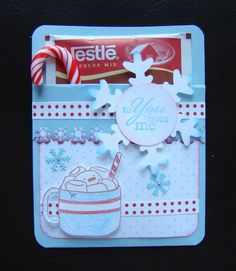 Hot Chocolate Pocket Card Teacher