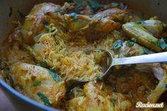 Рецепт Курица карри с рисом в духовке. Приготовление   блюда