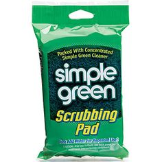 Simple Green® Scrubbing Pad - A handy cleaning tool packed full of effective, non-toxic Simple Green. #SimpleGreen