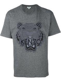 Kenzo Camiseta com bordado