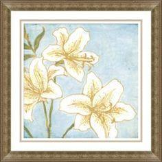 Lily Framed Giclee Print