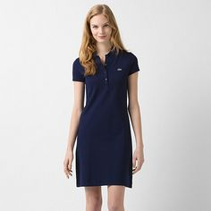 Robe polo stretch