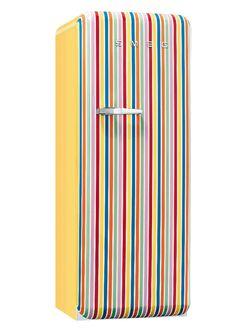 Single door refrigerator FAB28RCS1 by Smeg