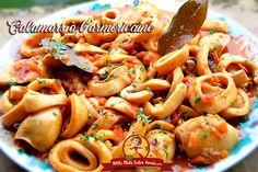 Calamari, Fish Recipes, Seafood Recipes, Healthy Cooking, Healthy Dinner Recipes, Food Labels, Fish And Seafood, Relleno, Food Hacks