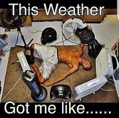Bosque Heating, Cooling, & Plumbing provides the Albuquerque area with superior HVAC, AC repair, and plumbing services. Call today to save on your next service. Hot Weather Humor, Weather Memes, Hate Summer, Summer Heat, Hvac Repair, Make Funny Faces, Funny Costumes, Funny Outfits, Beat The Heat