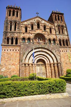 Church in Villarrica, Paraguay