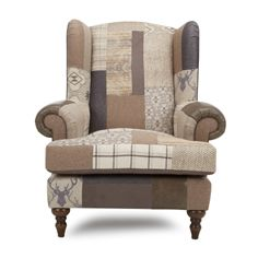 High Back Wing Chair Alpine Dfs Cader Freichiau Wing Chair