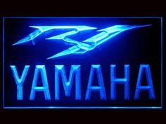 Yamaha R1 Logo Neon Light Sign