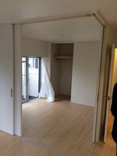 sliding doors renovated