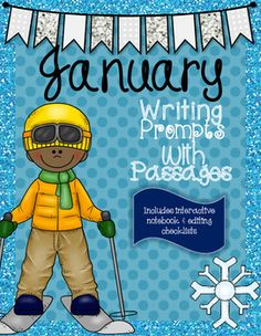January Paired Passages with Writing Prompts & Teaching Tools. Great resource for teaching and practice explanatory writing and opinion writing! - Sweet Southern Teaching