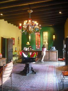 Hotel California in Todos Santos . Baja California Sur . Mexico