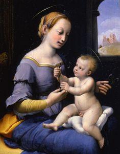 Bottega di Raffaello.  1520-1530. Olio su tavola. Pinacoteca Tosio Martinengo