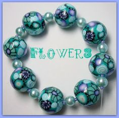 Beadazzle Me Polymer Jewelry: Polymer Clay Millifiore Round Beads