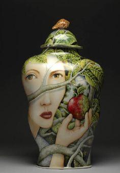 Ceramics - Kurt Weiser.  A master artist for sure!!  LOVE his work.