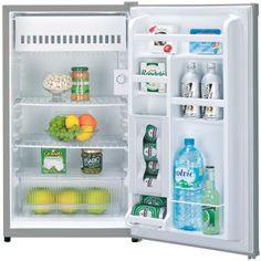Gotta have a mini fridge for those noms. Emerson 4.5 Cu