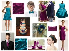 Colors - Blue and Purple Wedding Peacock Wedding, Purple Wedding, Wedding Colors, Fall Wedding, Wedding Styles, Dream Wedding, Wedding 2017, Wedding Fun, Wedding Ceremony